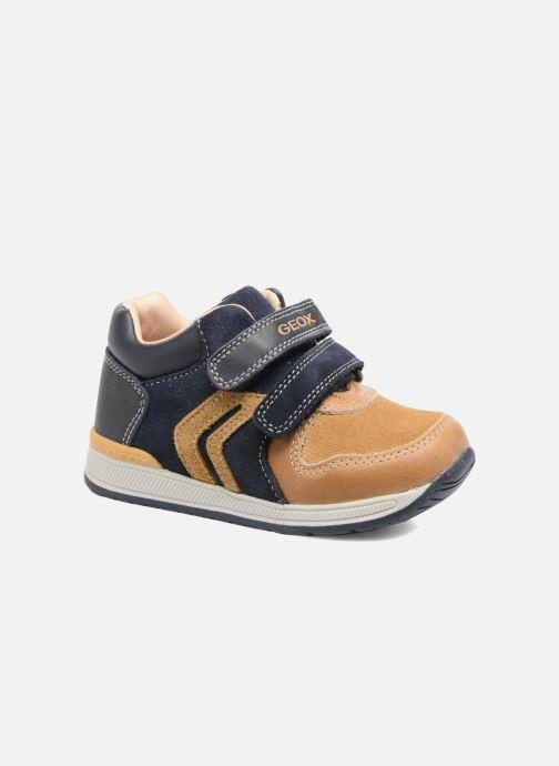 28f466cfe5c Sneakers Geox B Rishon B. A B640RA Brun detaljeret billede af skoene