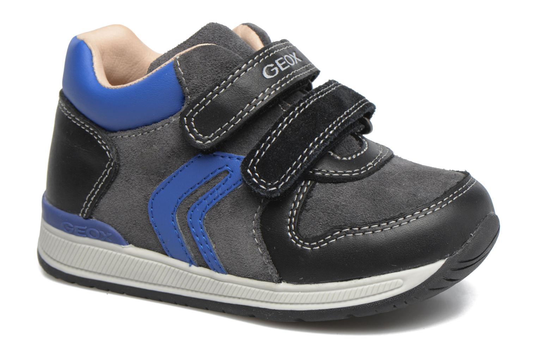 Sneakers Geox B Rishon B. A B640RA Blauw detail