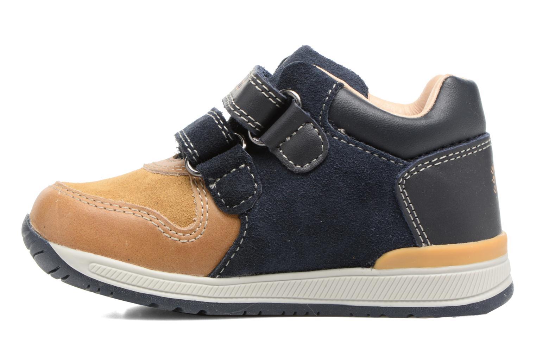 Sneakers Geox B Rishon B. A B640RA Marrone immagine frontale