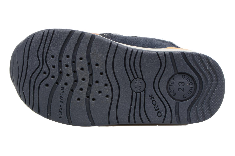 Sneakers Geox B Rishon B. A B640RA Marrone immagine dall'alto