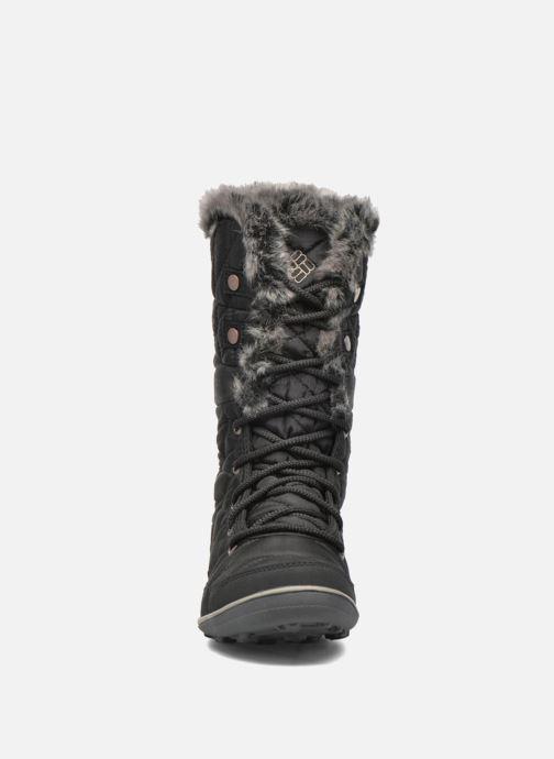 Zapatillas de deporte Columbia Heavenly Omni-Heat Negro vista del modelo