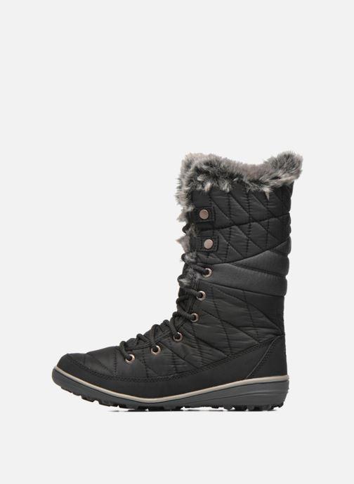 Zapatillas de deporte Columbia Heavenly Omni-Heat Negro vista de frente