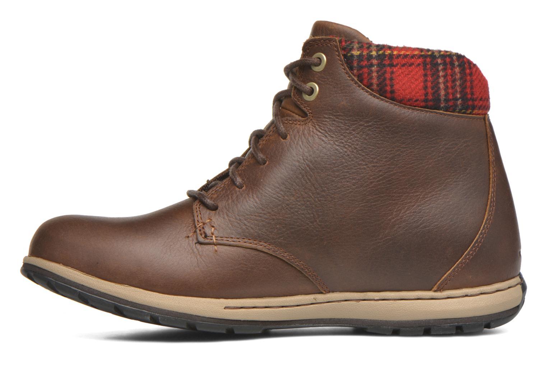 Chaussures à lacets Columbia Davenport Xtm Waterproof Omni-Heat Marron vue face