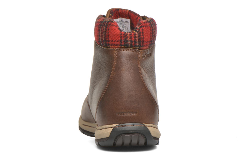 Chaussures à lacets Columbia Davenport Xtm Waterproof Omni-Heat Marron vue droite