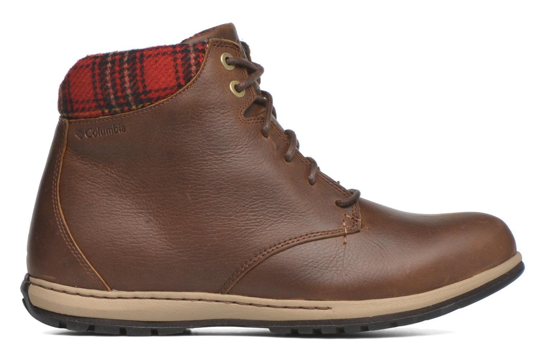 Chaussures à lacets Columbia Davenport Xtm Waterproof Omni-Heat Marron vue derrière