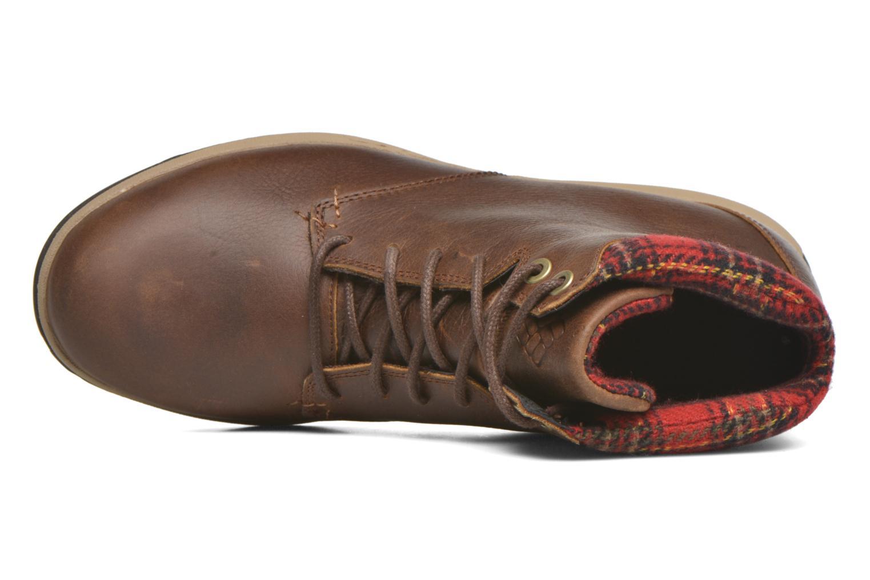 Chaussures à lacets Columbia Davenport Xtm Waterproof Omni-Heat Marron vue gauche