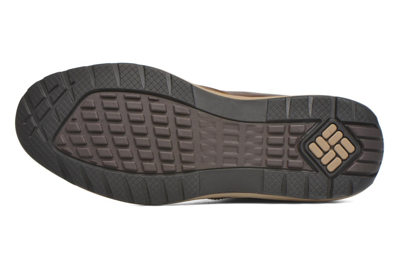 Chaussures à lacets Columbia Davenport Xtm Waterproof Omni-Heat Marron vue haut