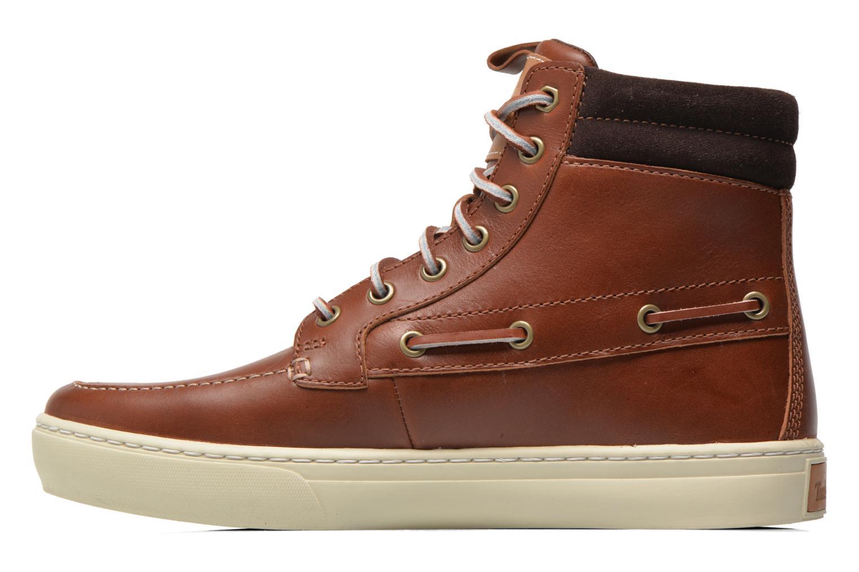 Bottines et boots Timberland Adventure 2.0 Cupsole Leather 7-Eye Chukka Marron vue face