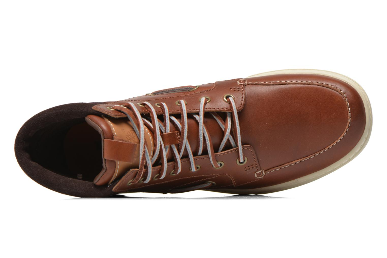 Bottines et boots Timberland Adventure 2.0 Cupsole Leather 7-Eye Chukka Marron vue gauche