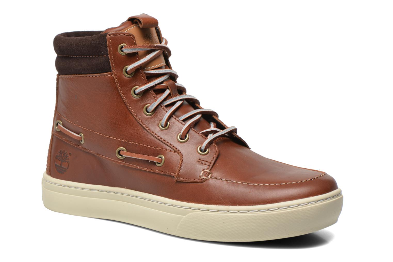 Bottines et boots Timberland Adventure 2.0 Cupsole Leather 7-Eye Chukka Marron vue détail/paire