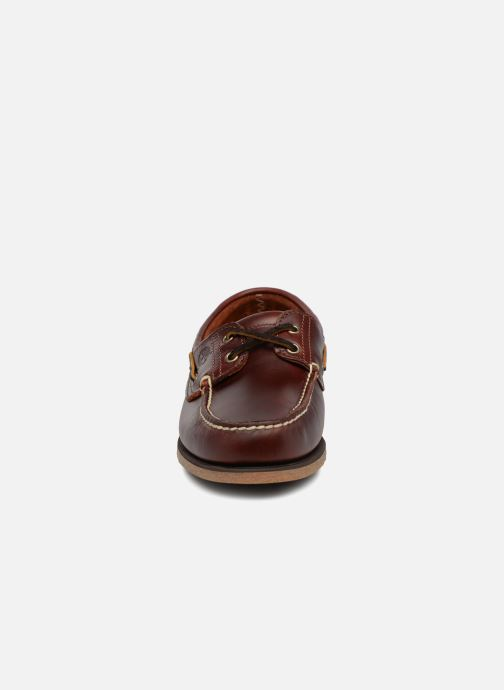 Lace-up shoes Timberland Classic Boat 2 Eye Brown model view