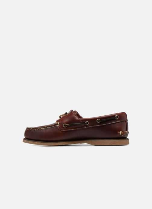 Lace-up shoes Timberland Classic Boat 2 Eye Brown front view