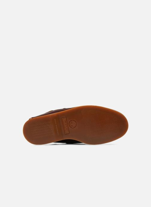 Lace-up shoes Timberland Classic Boat 2 Eye Brown view from the left