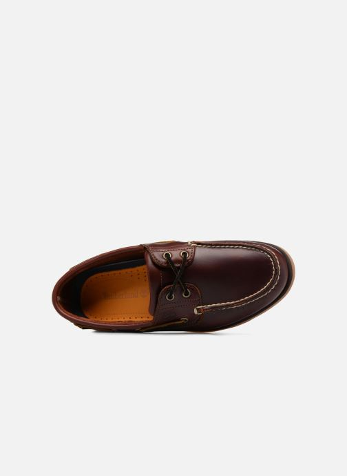 Chaussures à lacets Timberland Classic Boat 2 Eye Marron vue haut