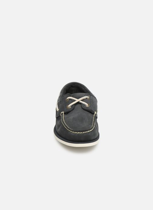 Chaussures à lacets Timberland Classic Boat 2 Eye Gris vue portées chaussures