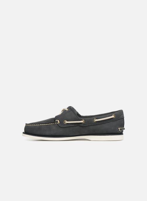 Zapatos con cordones Timberland Classic Boat 2 Eye Gris vista de frente