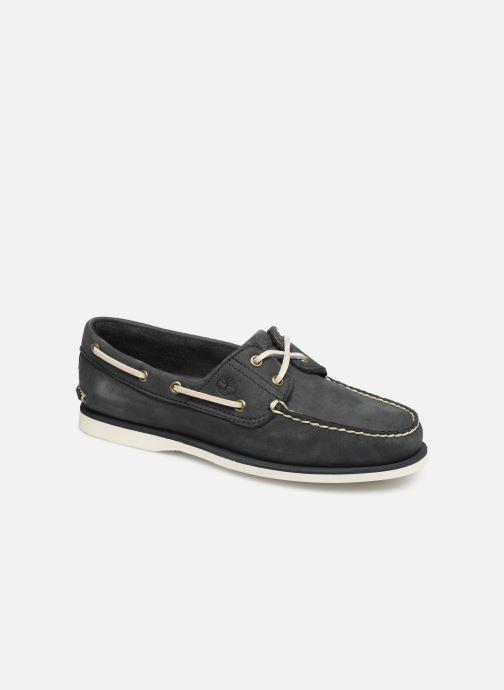 Zapatos con cordones Timberland Classic Boat 2 Eye Gris vista de detalle / par