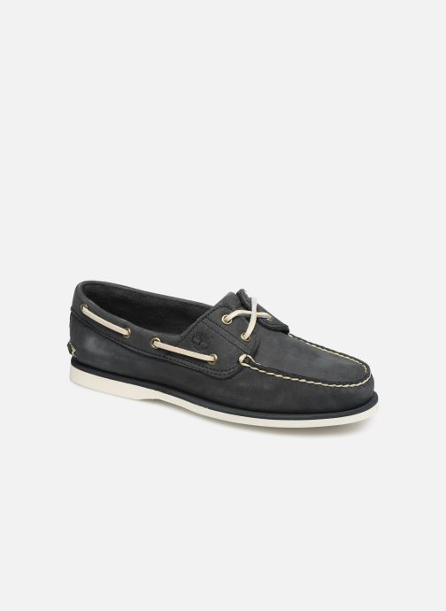 Chaussures à lacets Timberland Classic Boat 2 Eye Gris vue détail/paire