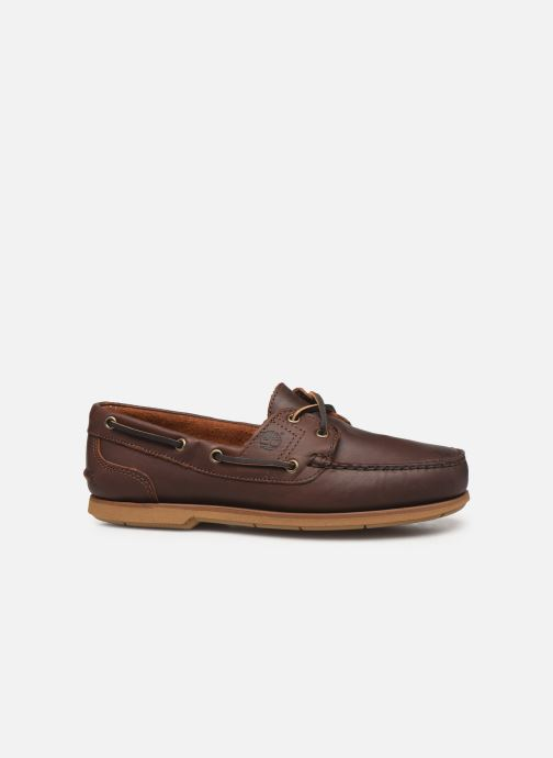Zapatos con cordones Timberland Classic Boat 2 Eye Marrón vistra trasera