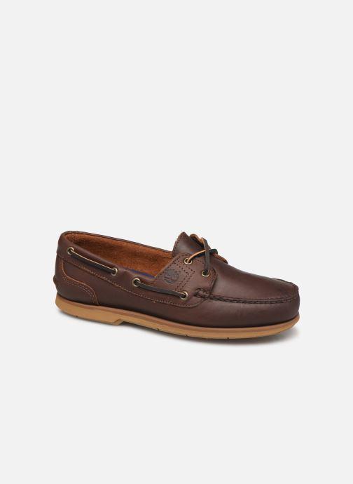 Zapatos con cordones Timberland Classic Boat 2 Eye Marrón vista de detalle / par