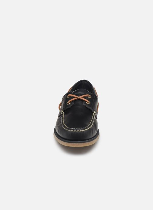 Lace-up shoes Timberland Classic Boat 2 Eye Blue model view