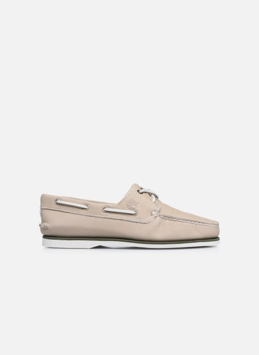 Zapatos con cordones Timberland Classic Boat 2 Eye Beige vistra trasera