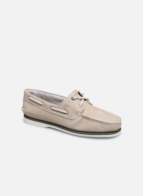 Zapatos con cordones Timberland Classic Boat 2 Eye Beige vista de detalle / par