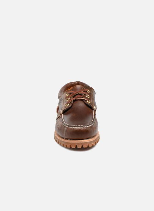 Lace-up shoes Timberland Authentics 3 Eye Classic Brown model view