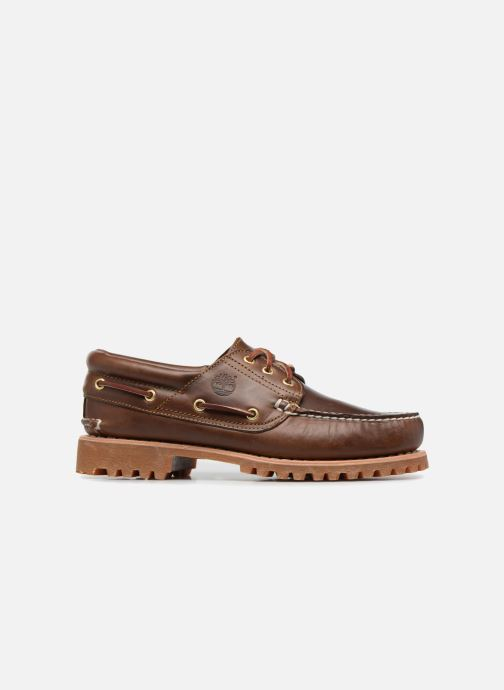 Lace-up shoes Timberland Authentics 3 Eye Classic Brown back view