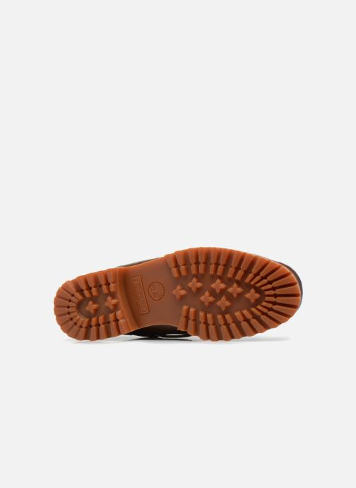 Lace-up shoes Timberland Authentics 3 Eye Classic Brown view from above