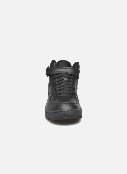 Baskets Nike Nike Force 1 Mid (Ps) Noir vue portées chaussures
