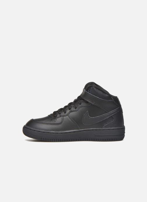 Sneakers Nike Nike Force 1 Mid (Ps) Sort se forfra