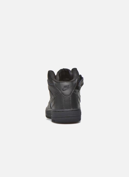 Sneakers Nike Nike Force 1 Mid (Ps) Zwart rechts