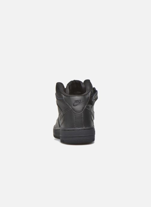 Deportivas Nike Nike Force 1 Mid (Ps) Negro vista lateral derecha