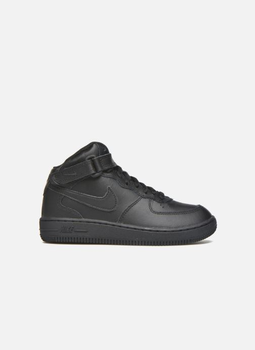 Sneakers Nike Nike Force 1 Mid (Ps) Zwart achterkant