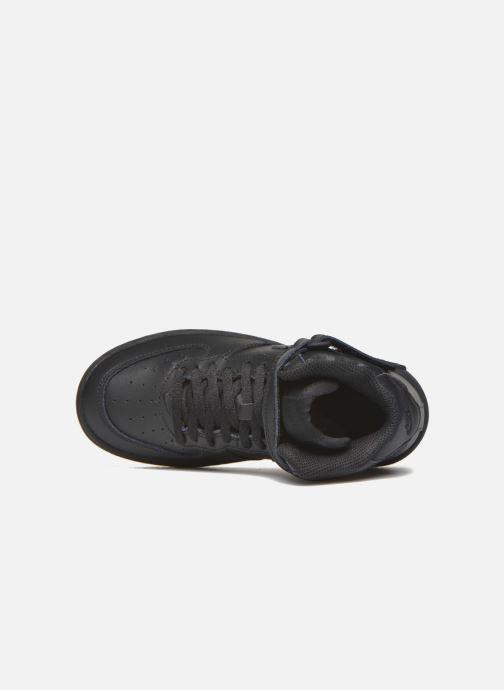 Sneakers Nike Nike Force 1 Mid (Ps) Zwart links