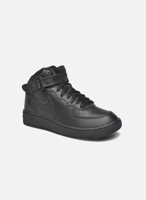 Sneakers Nike Nike Force 1 Mid (Ps) Zwart detail