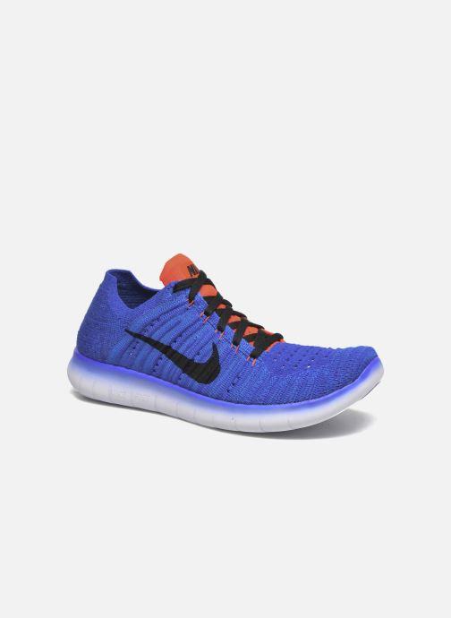 innovative design e2841 9e940 Deportivas Nike Nike Free Rn Flyknit (Gs) Azul vista de detalle   par