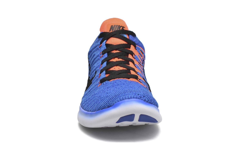 Sneakers Nike Nike Free Rn Flyknit (Gs) Blauw model
