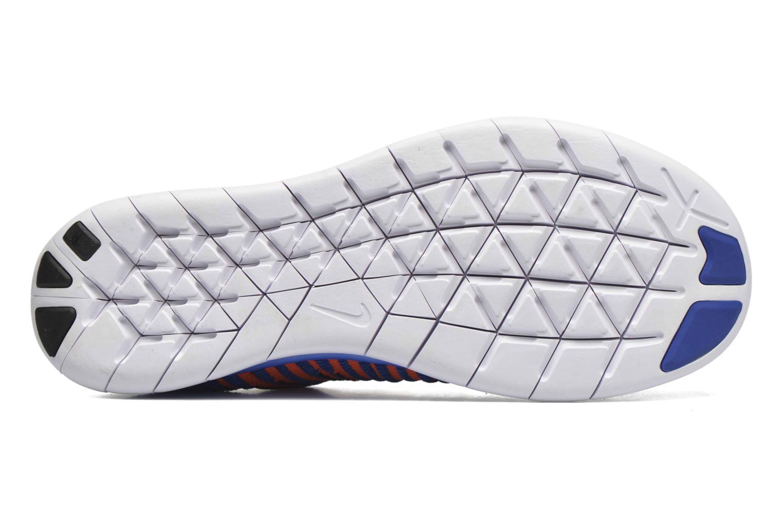Sneakers Nike Nike Free Rn Flyknit (Gs) Blauw boven