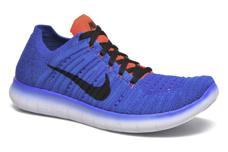 Sneakers Nike Nike Free Rn Flyknit (Gs) Blauw detail