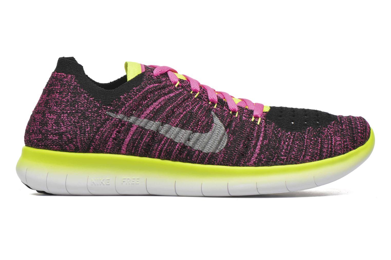 Sneakers Nike Nike Free Rn Flyknit (Gs) Roze achterkant