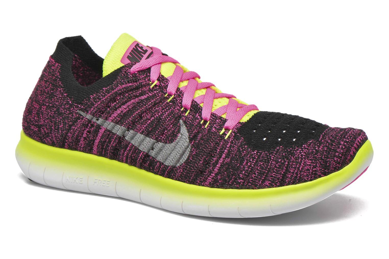 Sneakers Nike Nike Free Rn Flyknit (Gs) Roze detail
