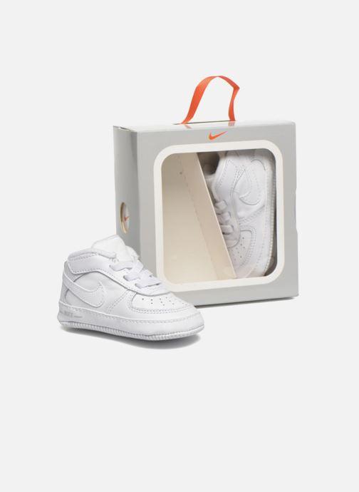 Chaussons Nike Nike Force 1 (Cb) Blanc vue 3/4