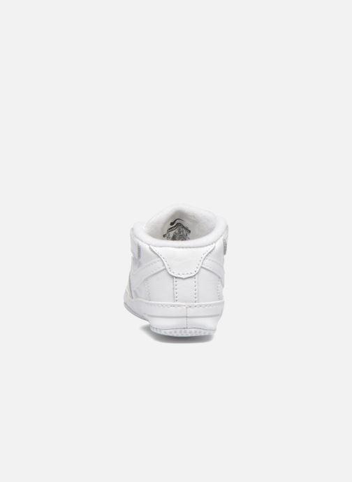 Hausschuhe Nike Nike Force 1 (Cb) weiß ansicht von rechts