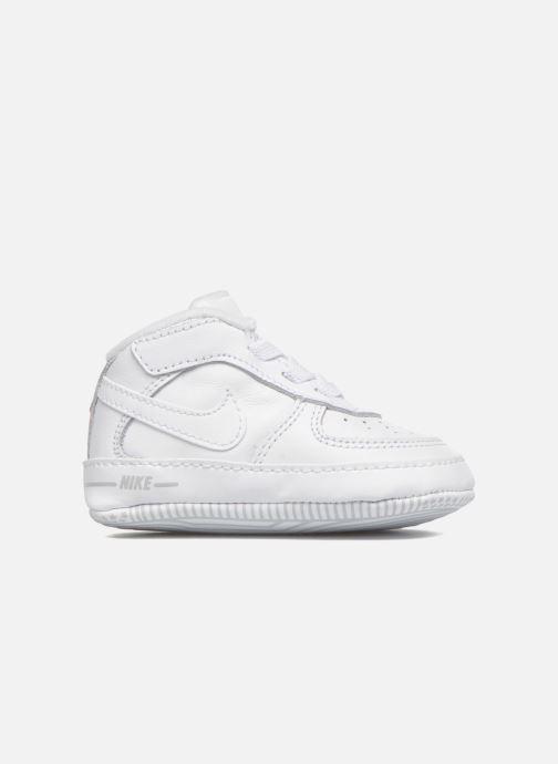 Hausschuhe Nike Nike Force 1 (Cb) weiß ansicht von hinten