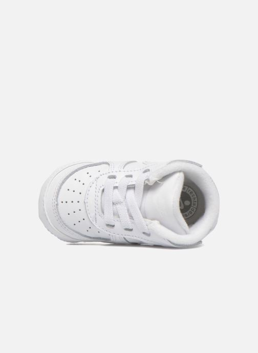 Hausschuhe Nike Nike Force 1 (Cb) weiß ansicht von links