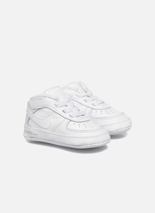 Chaussons Nike Nike Force 1 (Cb) Blanc vue détail/paire