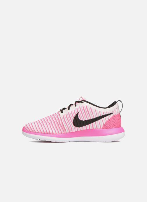 Sneakers Nike Nike Roshe Two Flyknit (Gs) Roze voorkant