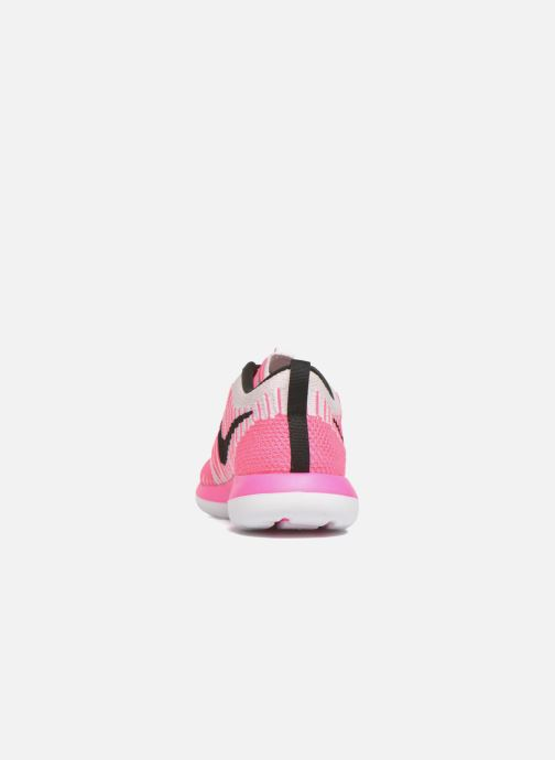 Trainers Nike Nike Roshe Two Flyknit (Gs) Pink view from the right